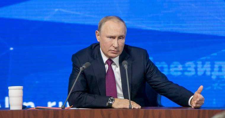 Путин благословенье