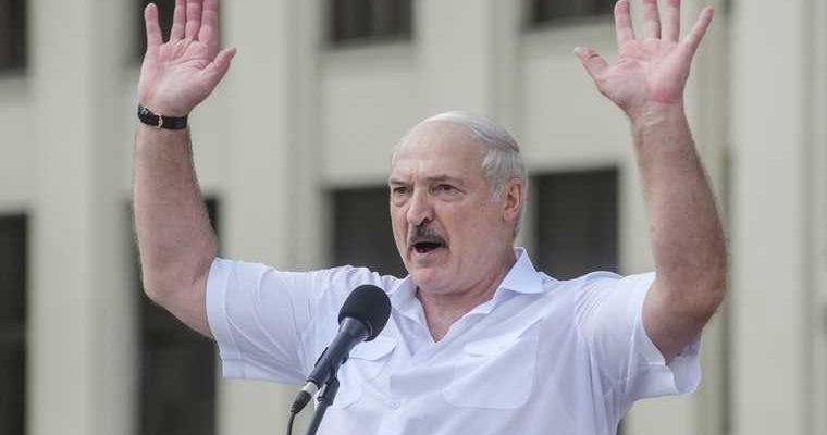 Лукашенко усилить охрану границ Белоруссии