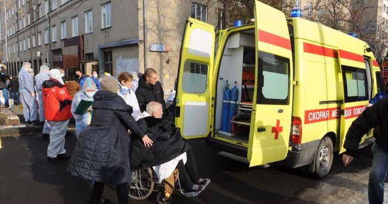 взрыв в больнице Челябинска