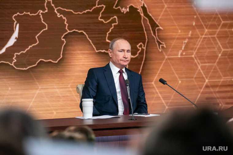 Путин назвал дату начала вакцинации