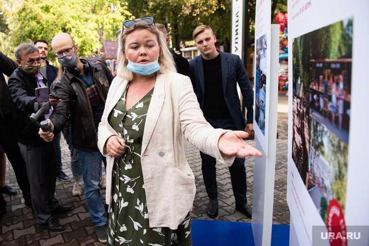 Екатеринбург ЦПКиО колесо обозрения Екатерина Кейльман