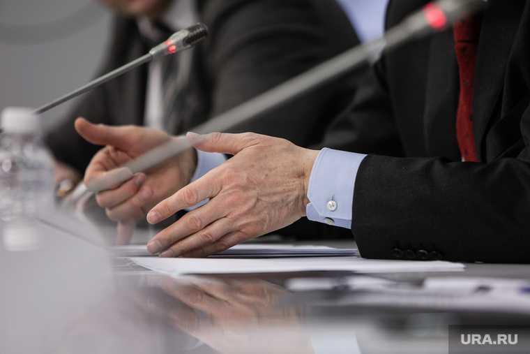 Андрей Фурсенко на пресс-конференции в ТАСС, посвященная вручению Премии президента России в области науки. Москва
