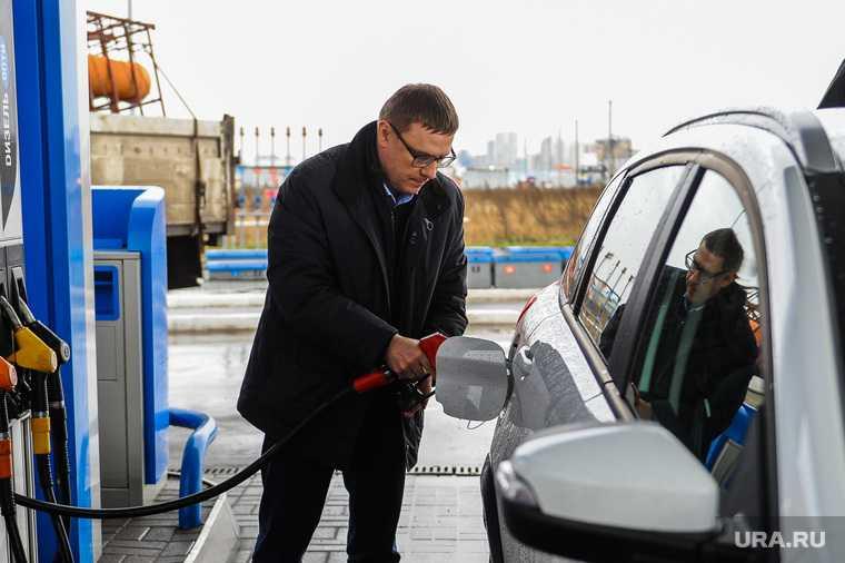 в Новом Уренгое проблемы с поставкой бензина